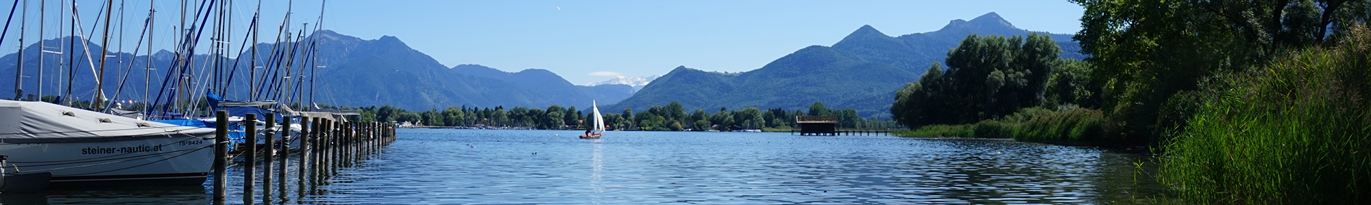Uferblick am Chiemsee