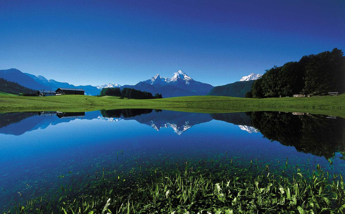 berchtesgadener land mittelpunkt des salzalpensteigs perle der alpen. Black Bedroom Furniture Sets. Home Design Ideas